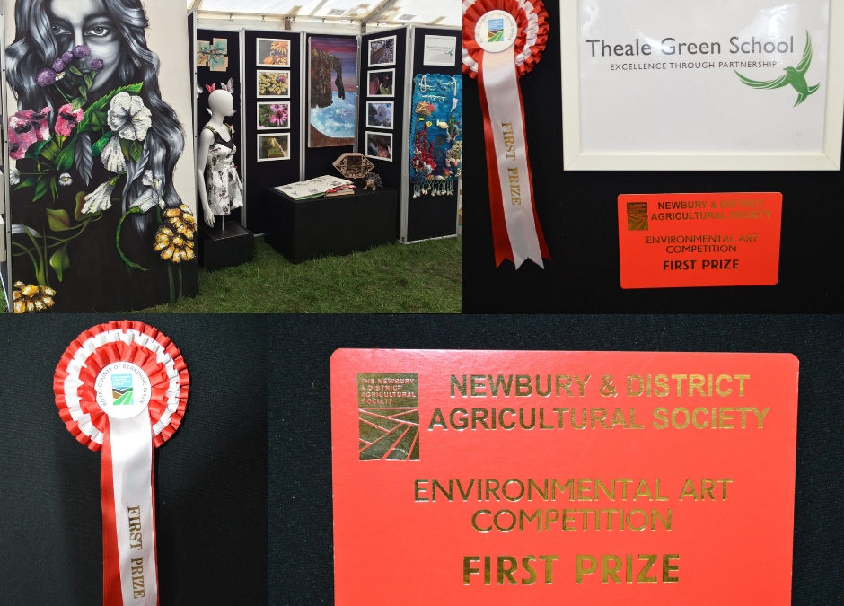 Our work at Newbury Show Arts Exhibition