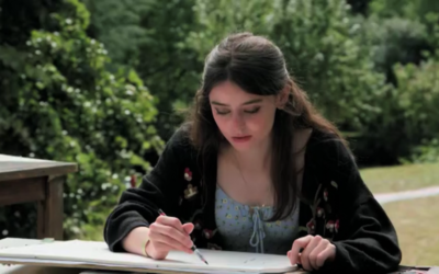 Former Theale Green School student competes in Landscape Artist of the Year TV series